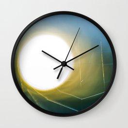 Through the web I Wall Clock