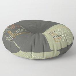 New Technology Commands Floor Pillow