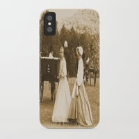 battlefield iPhone & iPod Cases featuring Strolling on the Battlefield by Frankie Cat