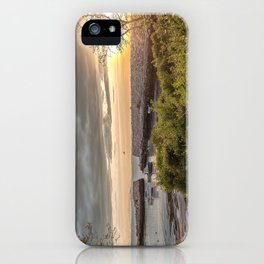 Lanes Cove Sunset 5-20-18 iPhone Case
