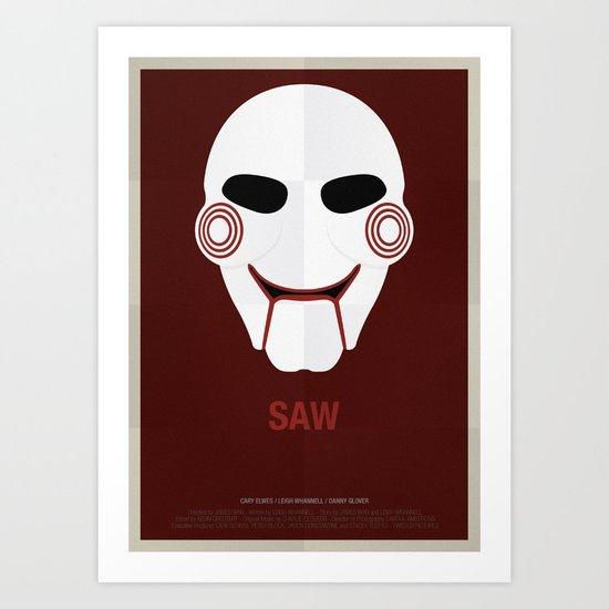 SAW Art Print