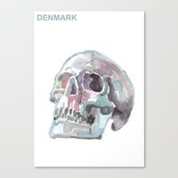denmark Canvas Prints featuring Denmark by Tony Stella