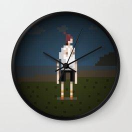 Bondi Hipsters in 8-Bit. (Dom) Wall Clock