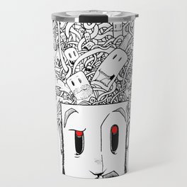 Horror Brain Travel Mug