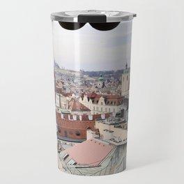 Window to Prague Travel Mug