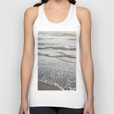 Pacific Waves at Sunset Unisex Tank Top
