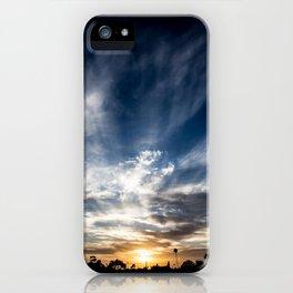 Sunset Flurry iPhone Case