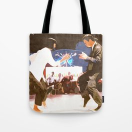 PULP FICTION Design | Dance Scene | Vintage Style Tote Bag