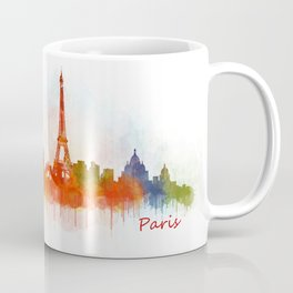 Paris City Skyline Hq v3 Coffee Mug