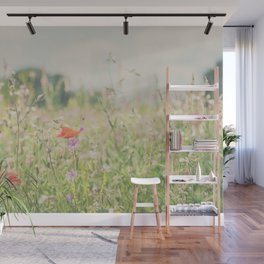 wild flowers ... Wall Mural