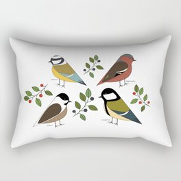 Common Chaffinch Rectangular Pillow