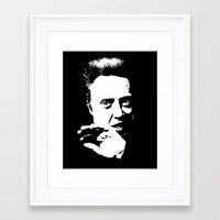 christopher walken Framed Art Prints featuring Christopher Walken by Spyck