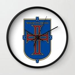 Portugal Seleção das Quinas (Team of Shields) ~Group B~ Wall Clock