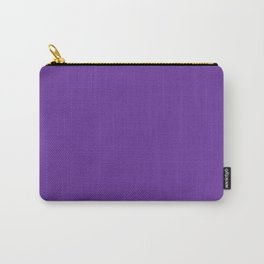 Purple Heart - solid color Carry-All Pouch