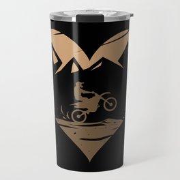 I Love Motocross Travel Mug