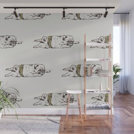 AFTER LEG DAY Wall Mural