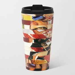 Glitch Pin-Up Redux: Emma Metal Travel Mug