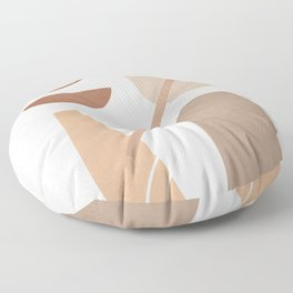 Abstract Shapes No.23 Floor Pillow
