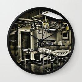 Sick Bay Wall Clock
