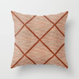 Chisel In Rust Throw Pillow