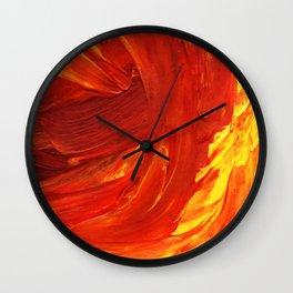 Lapeda Textile Art - 18 Wall Clock