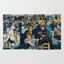 Auguste Renoir - Dance At Le Moulin De La Galett Rug