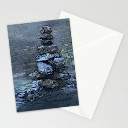 Liard Hotsprings Stones Stationery Cards