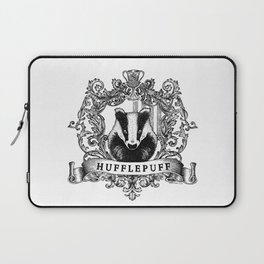 Hufflepuff Crest Laptop Sleeve