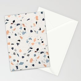 terrazzo pattern Stationery Cards