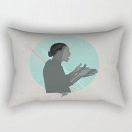 Old School Love Rectangular Pillow