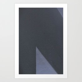 Gray composition 5 Art Print