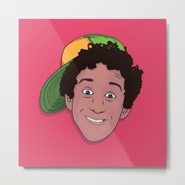"Samuel ""Screech"" Powers Metal Print"