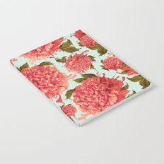 A Splash of Peony, A Dash of Color Notebook