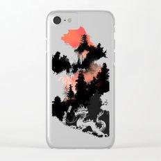 Samurai's life Clear iPhone Case