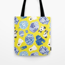 Chinoiserie Curiosity Cabinet Toss 2 Tote Bag