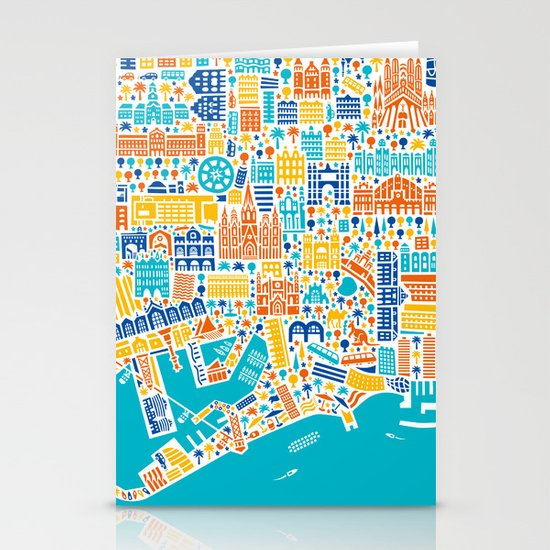 Vianina Barcelona City Map Poster Stationery Cards by vianina on map of kiev city, map of zhuhai city, map spain city, map of malta city, map of danang city, map of ulan bator city, map of juba city, map of switzerland city, map of bucharest city, map of chiang rai city, map of rio de janeiro city, map of quito city, about barcelona city, map of nagoya city, map of sharjah city, map of toledo city, map of bulawayo city, map of dallas city, map of kunming city, map of queen city,