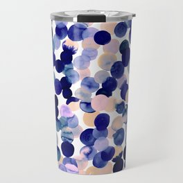Gracie Spot Pale Purple Travel Mug