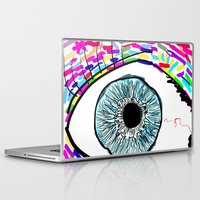 iris Laptop & iPad Skins featuring Iris by Beyond Infinite