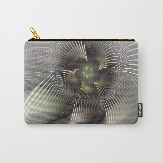 Stand Up, Abstract Fractal Art Carry-All Pouch