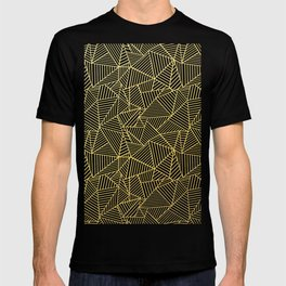 Ab 2 R Black and Gold T-shirt