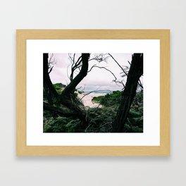 Ocean View, Squeaky Beach, Victoria, Australia Framed Art Print
