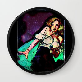 Detective Jane Wall Clock