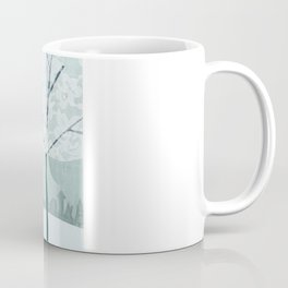 Lace Trees Coffee Mug
