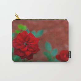 Velvet Red Carry-All Pouch