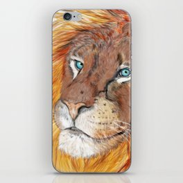 Colourful Lion iPhone Skin