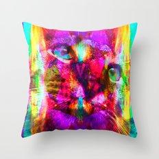 Crystal Cat - Sir Parker Throw Pillow