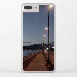 SEA LANDSCAPE IN ITALY. Clear iPhone Case
