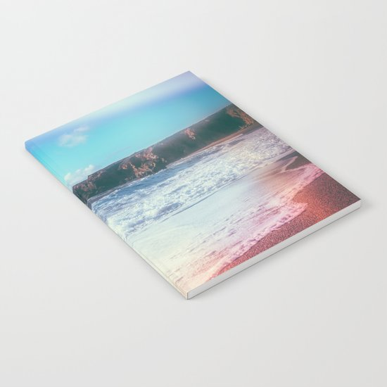 California Sunshine Waves Notebook