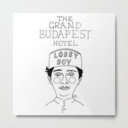The Grand Budapest Hotel Metal Print