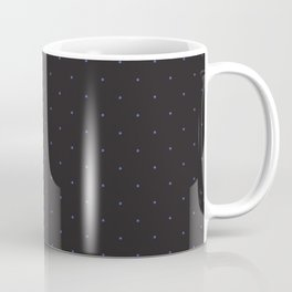 Black & blue pattern with dots for the guys Coffee Mug